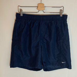 Nike Vintage Blue Running Shorts Size L